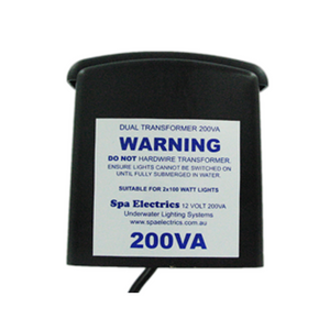 Spa Electrics 12v 200w transformer