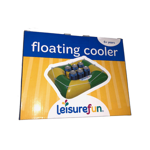 Floating Cooler Green and Gold