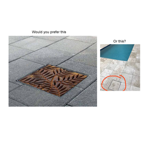 HIDDEN Drain Cover