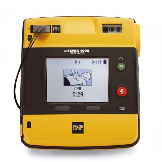 LIFEPAK 1000 with ECG Display Defibrillator