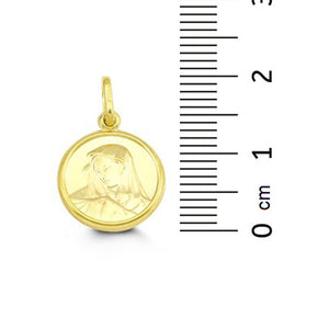 10kt Yellow Gold Madonna Charm