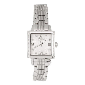BULOVA ACCUTRON STAINLESS STEEL WOMEN'S WATCH WITH DIAMONDS