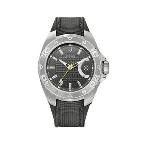 BULOVA ACCUTRON AUTOMATIC RUBBER STRAP MEN'S WATCH