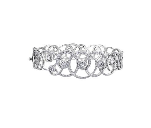 14kt White Gold 3.75cttw Diamond Bracelet