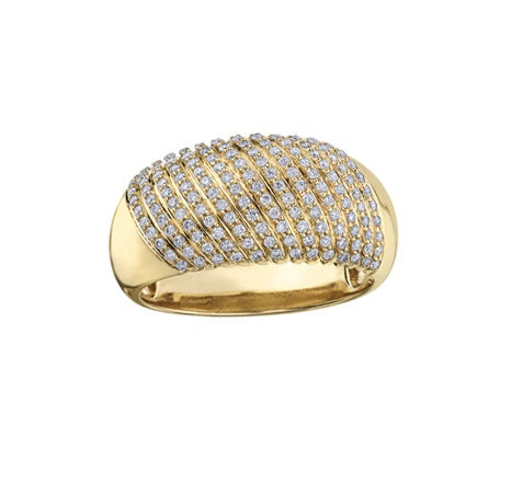 10kt Yellow gold 0.50cttw Diamond Ring