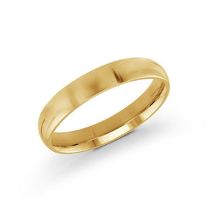 14kt Gold 4mm Classic Wedding Band