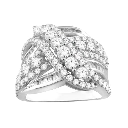 10kt White Gold 2.00cttw Diamond Ring