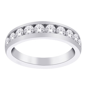 14kt White Gold 0.33cttw Diamond Wedding Band