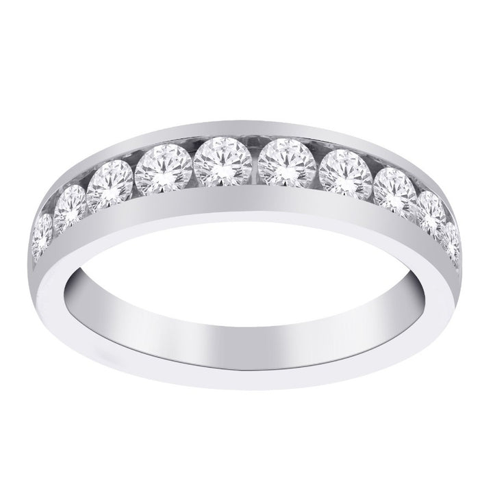 14kt White Gold 0.75cttw Diamond Wedding Band