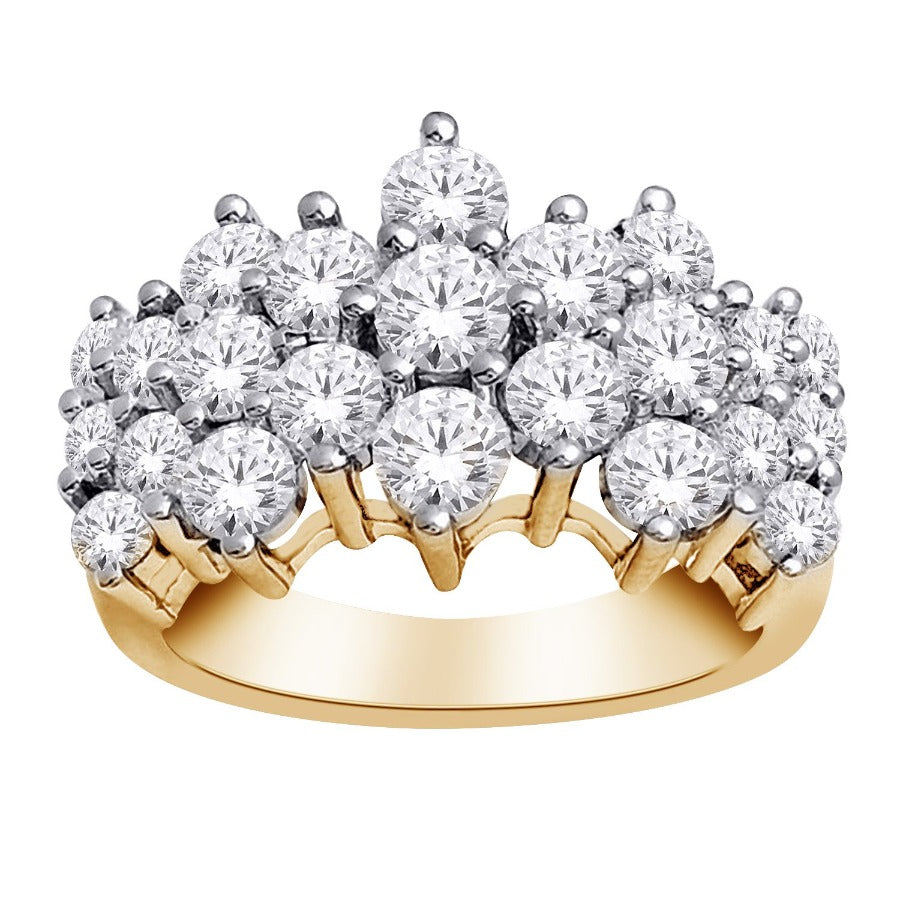 10kt Yellow Gold 2.00cttw Diamond Ring