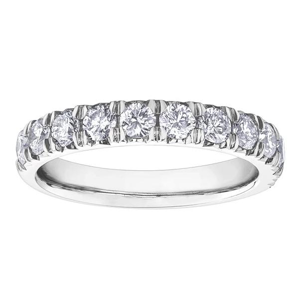10KT WHITE GOLD 1.00CTTW DIAMOND WEDDING BAND