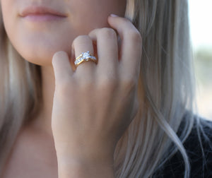 14kt Yellow Gold 1.50cttw Diamond Engagement Ring
