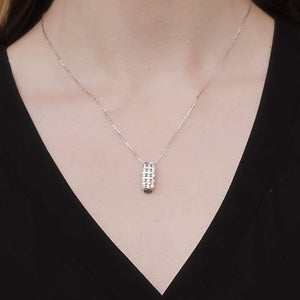 10kt White Gold 1.00cttw Diamond Pendant