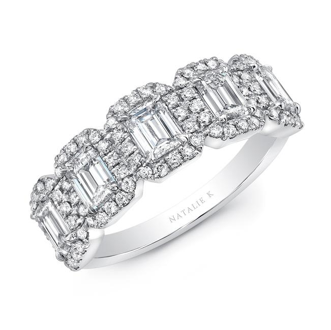 18kt White Gold 1.42cttw Diamond Ring
