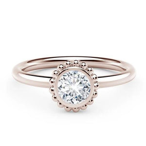 18kt Rose Gold 0.26ct Forevermark Diamond Ring