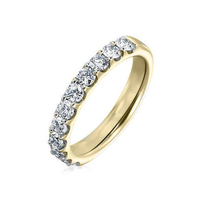 10KT YELLOW GOLD 0.50CTTW DIAMOND WEDDING BAND