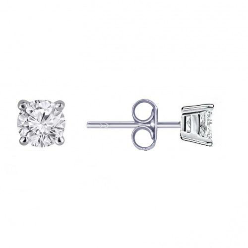 14kt White Gold 0.20cttw Diamond Stud Earrings