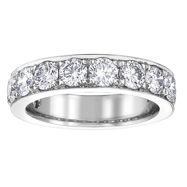 10KT WHITE GOLD 2.00CTTW CHANNEL DIAMOND BAND
