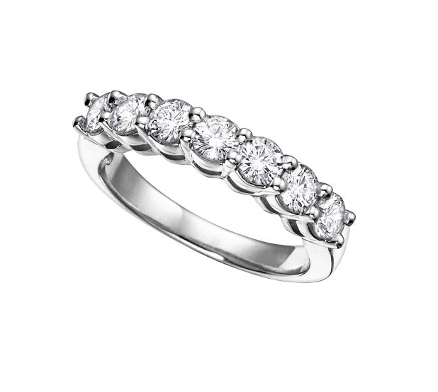 18kt White Gold 0.50cttw Canadian Diamond Wedding Band