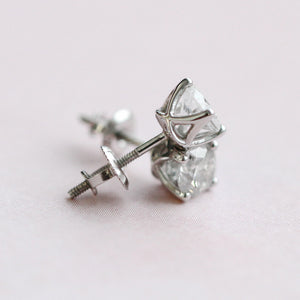 14kt White Gold 0.50cttw Diamond Studs