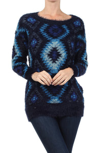Azul Aztec Sweater