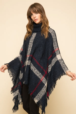 Perfect Paid Poncho - Multiple Colors Available
