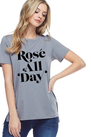 Rosé All Day Graphic Tee