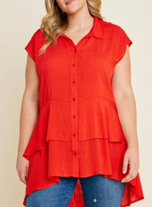 Curvy Flamenco Tunic