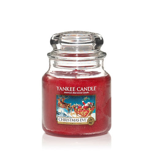 Yankee Candle Christmas Eve Medium Jar - TOSYS Candles and Gifts