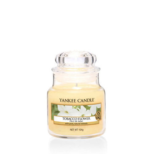 Yankee Candle Tobacco Flower Small Jar - TOSYS Candles and Gifts