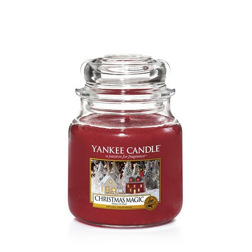 Yankee Candle Christmas Magic Medium Jar - TOSYS Candles and Gifts