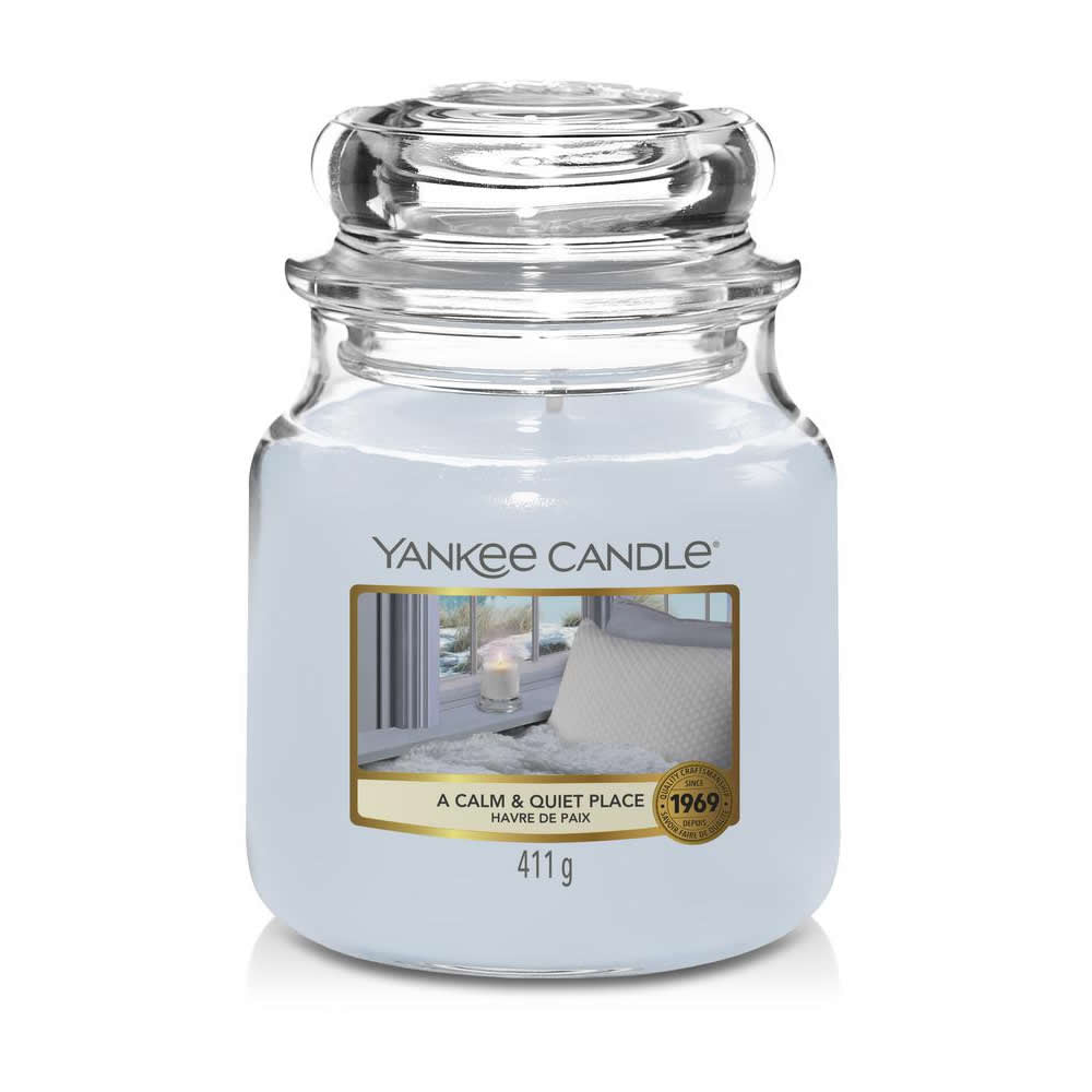 Yankee Candle A Calm & Quiet Place Medium Jar - TOSYS Candles and Gifts