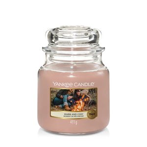 Yankee Candle Warm & Cosy Medium Jar