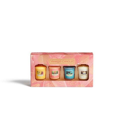 Yankee Candle The Last Paradise 4 Votive Candle Gift Set - TOSYS Candles and Gifts