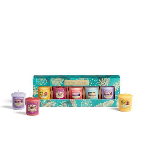 Yankee Candle The Last Paradise 5 Votive Candle Gift Set - TOSYS Candles and Gifts