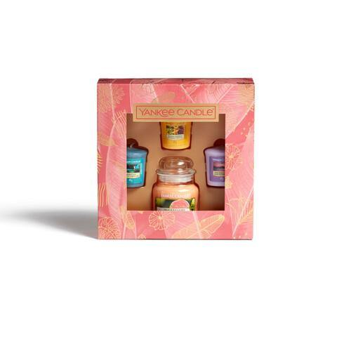 Yankee Candle The Last Paradise 1 Small Jar 3 Votive Gift Set - TOSYS Candles and Gifts