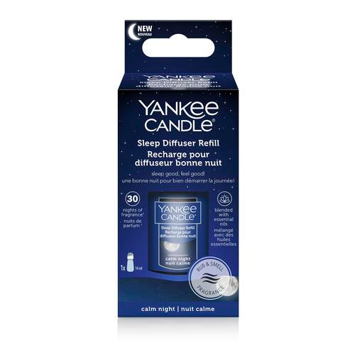 Yankee Candle Calm Night Sleep Diffuser Refill - TOSYS Candles and Gifts