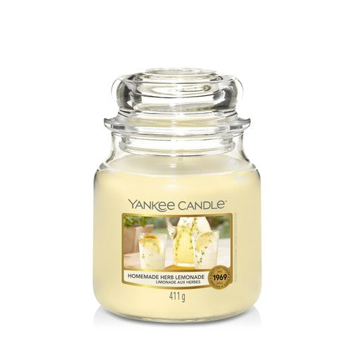 Yankee Candle Homemade Herb Lemonade Medium Jar - TOSYS Candles and Gifts