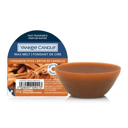 6 Pack Yankee Candle NEW Cinnamon Stick Wax Melts - TOSYS Candles and Gifts