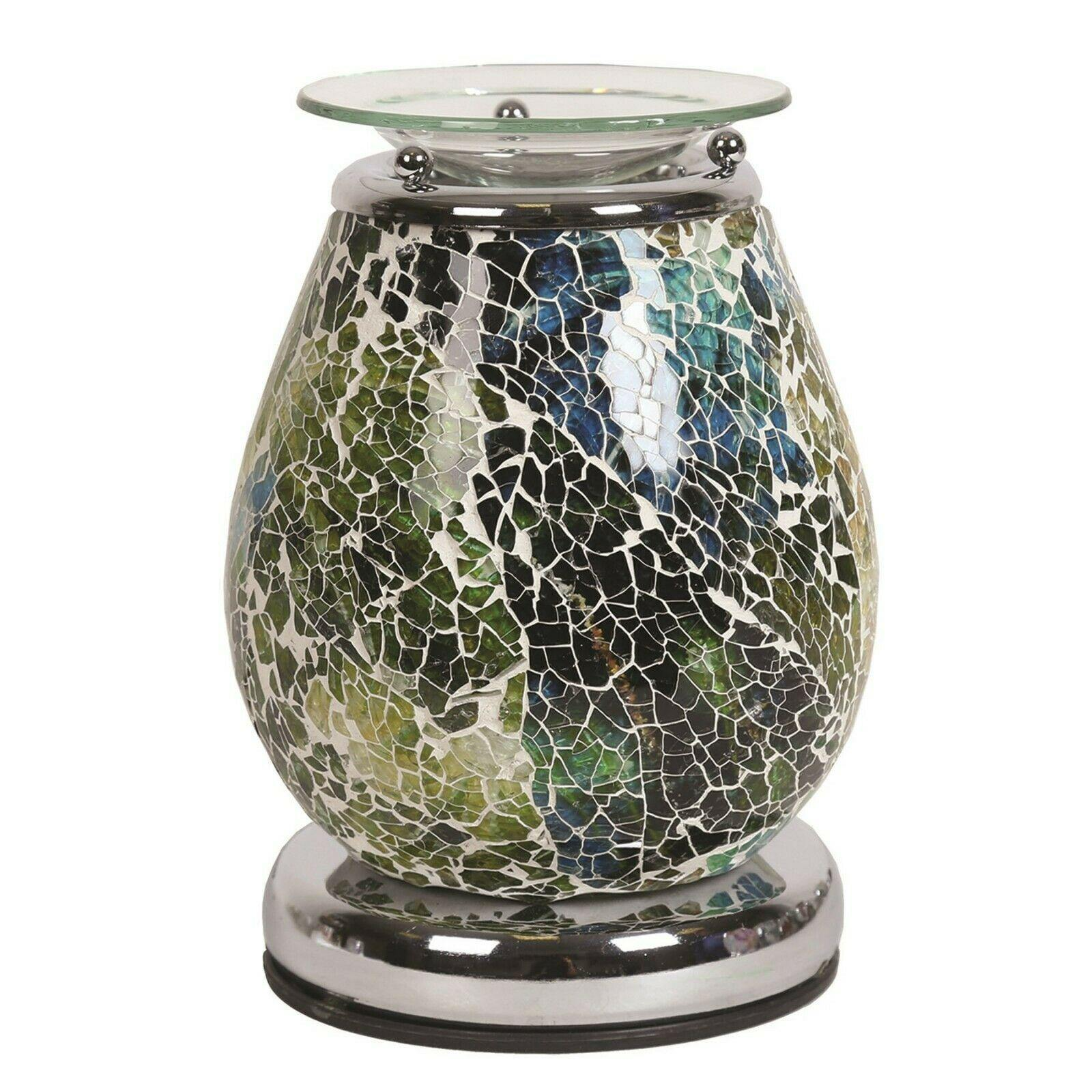 Aroma Accessories Ceres Mosaic Touch Electric Wax Melt Warmer - TOSYS Candles and Gifts