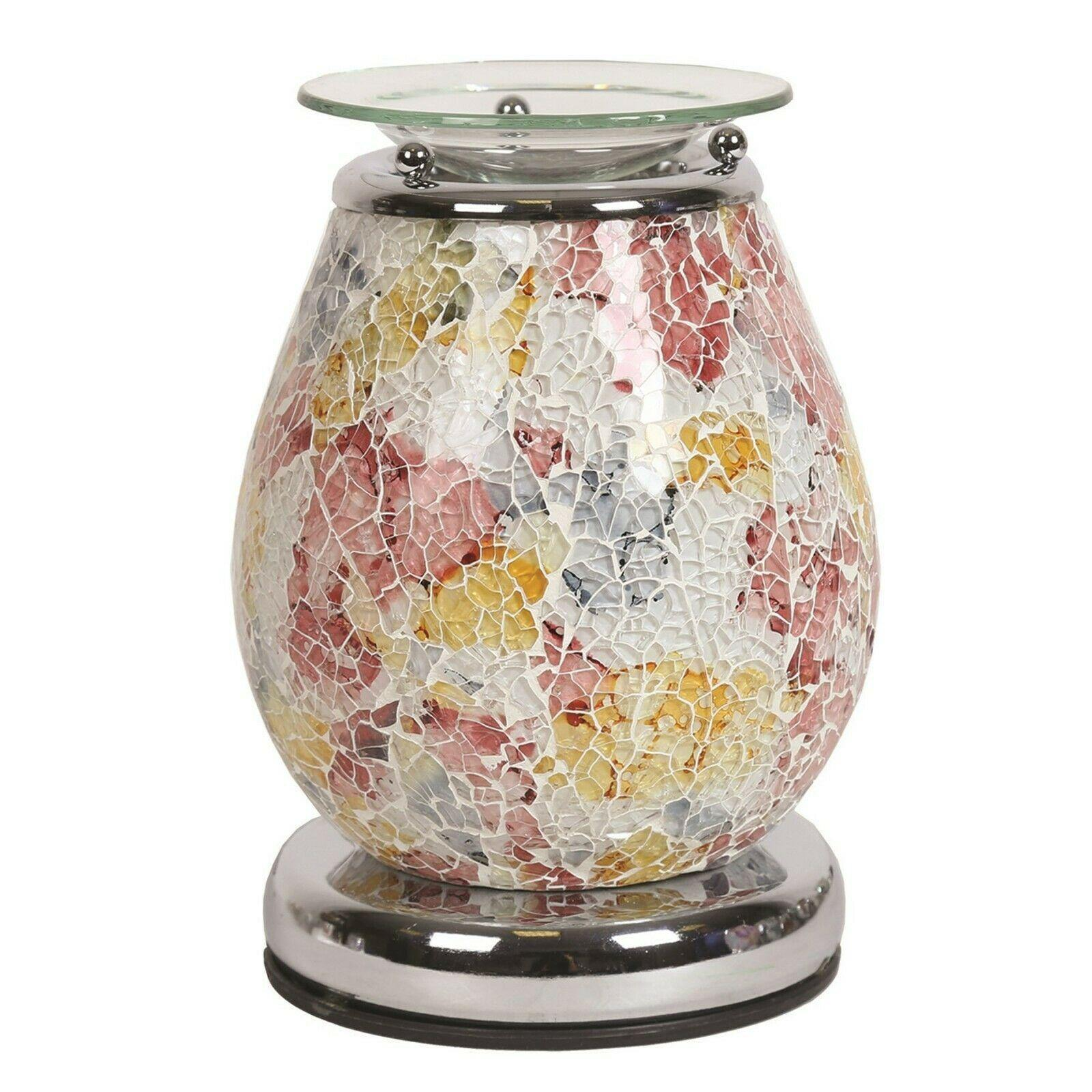 Aroma Accessories Minerva Mosaic Touch Electric Wax Melt Warmer - TOSYS Candles and Gifts