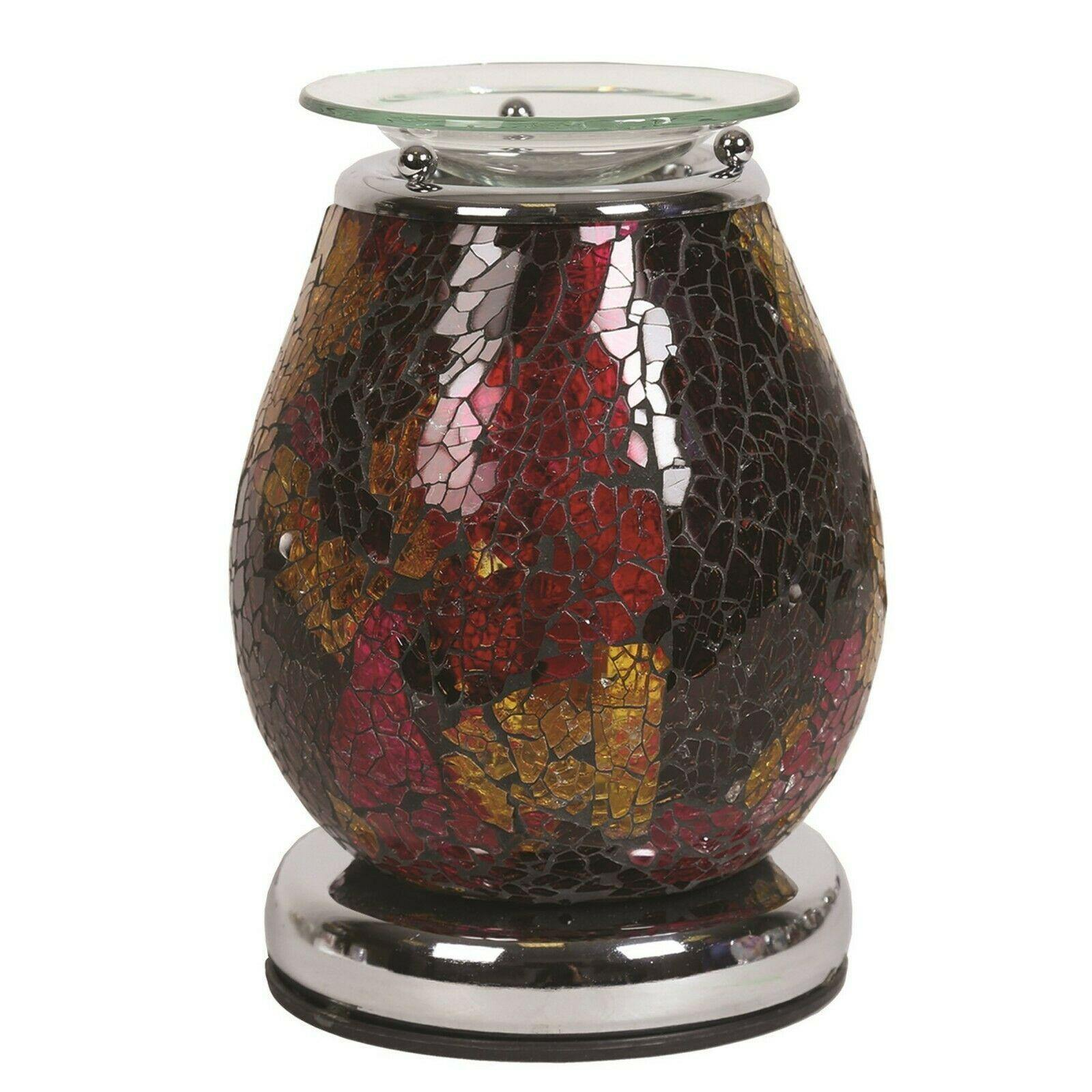Aroma Accessories Neptune Mosaic Touch Electric Wax Melt Warmer - TOSYS Candles and Gifts