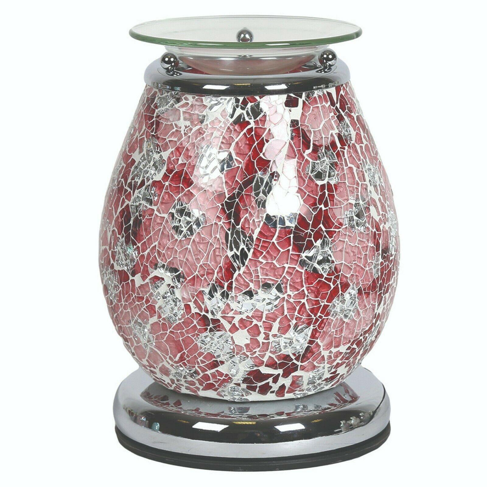 Aroma Accessories Athena Mosaic Touch Electric Wax Melt Warmer - TOSYS Candles and Gifts