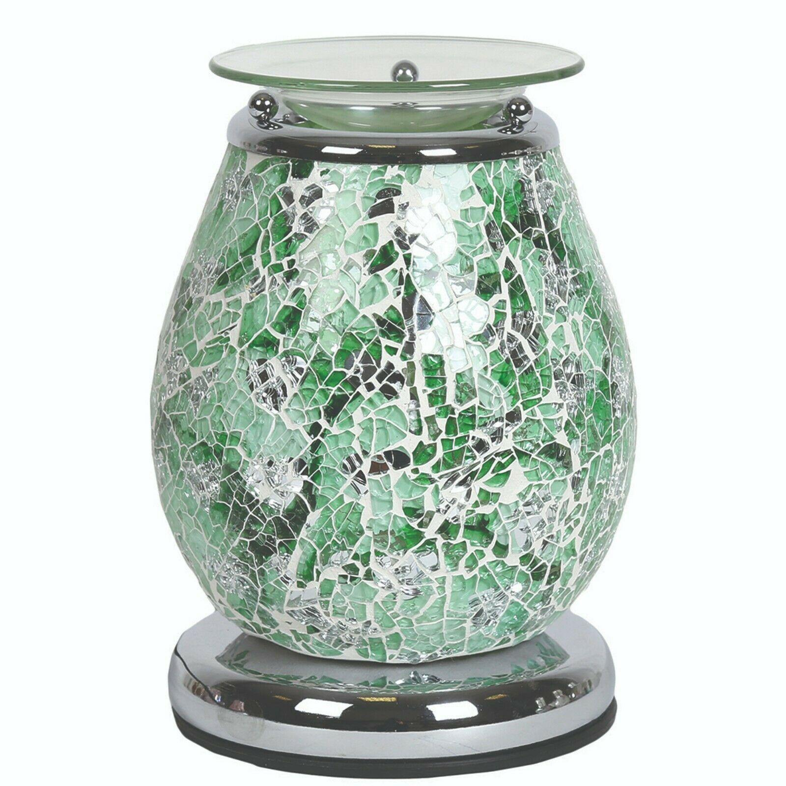 Aroma Accessories Aphrodite Mosaic Touch Electric Wax Melt Warmer - TOSYS Candles and Gifts