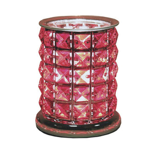 Aroma Accessories Red Crystal Touch Electric Wax Melt Warmer