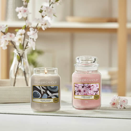 Seaside Woods Large Jar - TOSYS Candles and Gifts