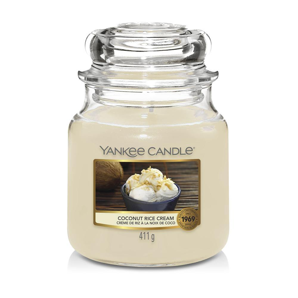 Yankee Candle Coconut Rice Cream Medium Jar - TOSYS Candles and Gifts