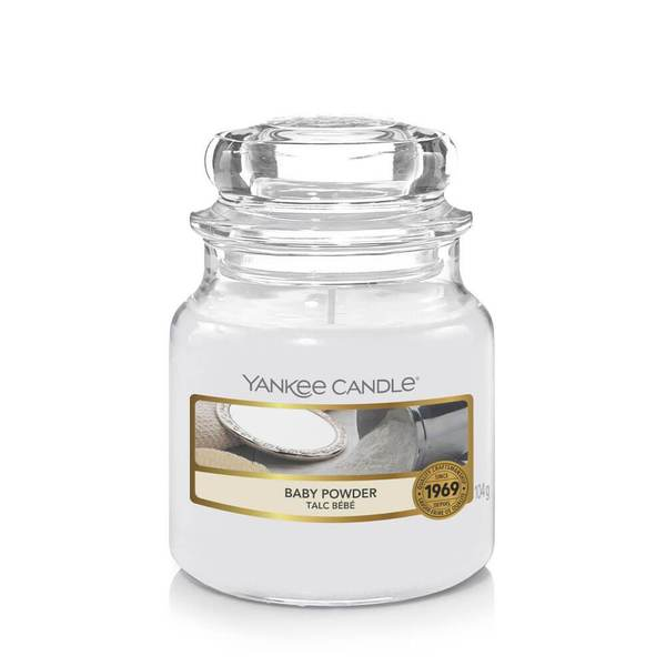 Yankee Candle Baby Powder Small Jar - TOSYS Candles and Gifts