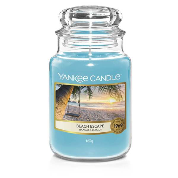 Beach Escape Large Jar - TOSYS Candles and Gifts