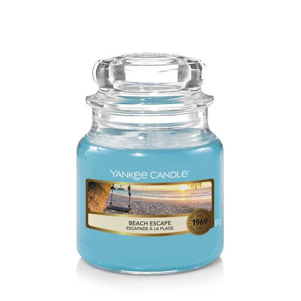 Yankee Candle Beach Escape Small Jar - TOSYS Candles and Gifts